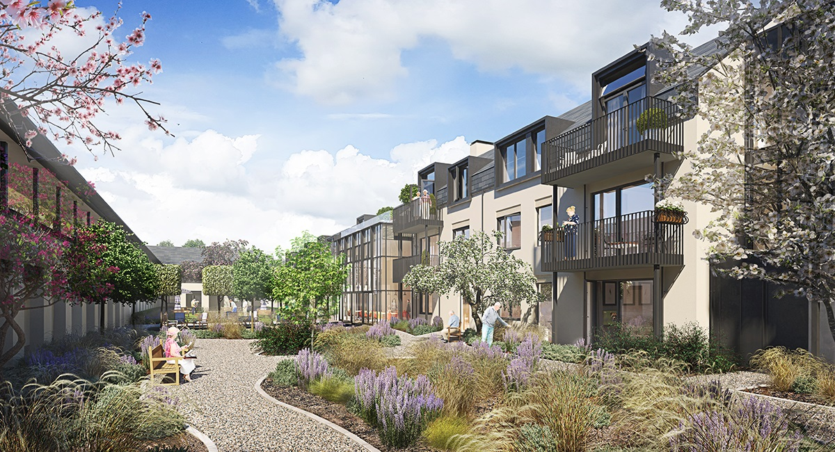 Pemberley Place, Bath Extra Care accommodation is launched