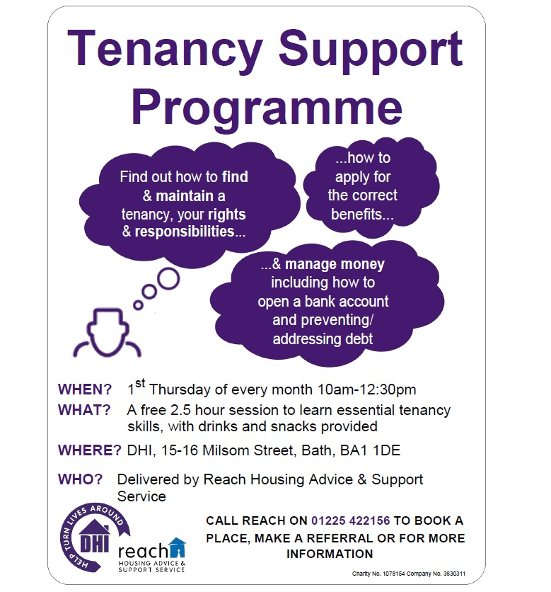 REACH Tenancy Support Programme on 2nd May 2019