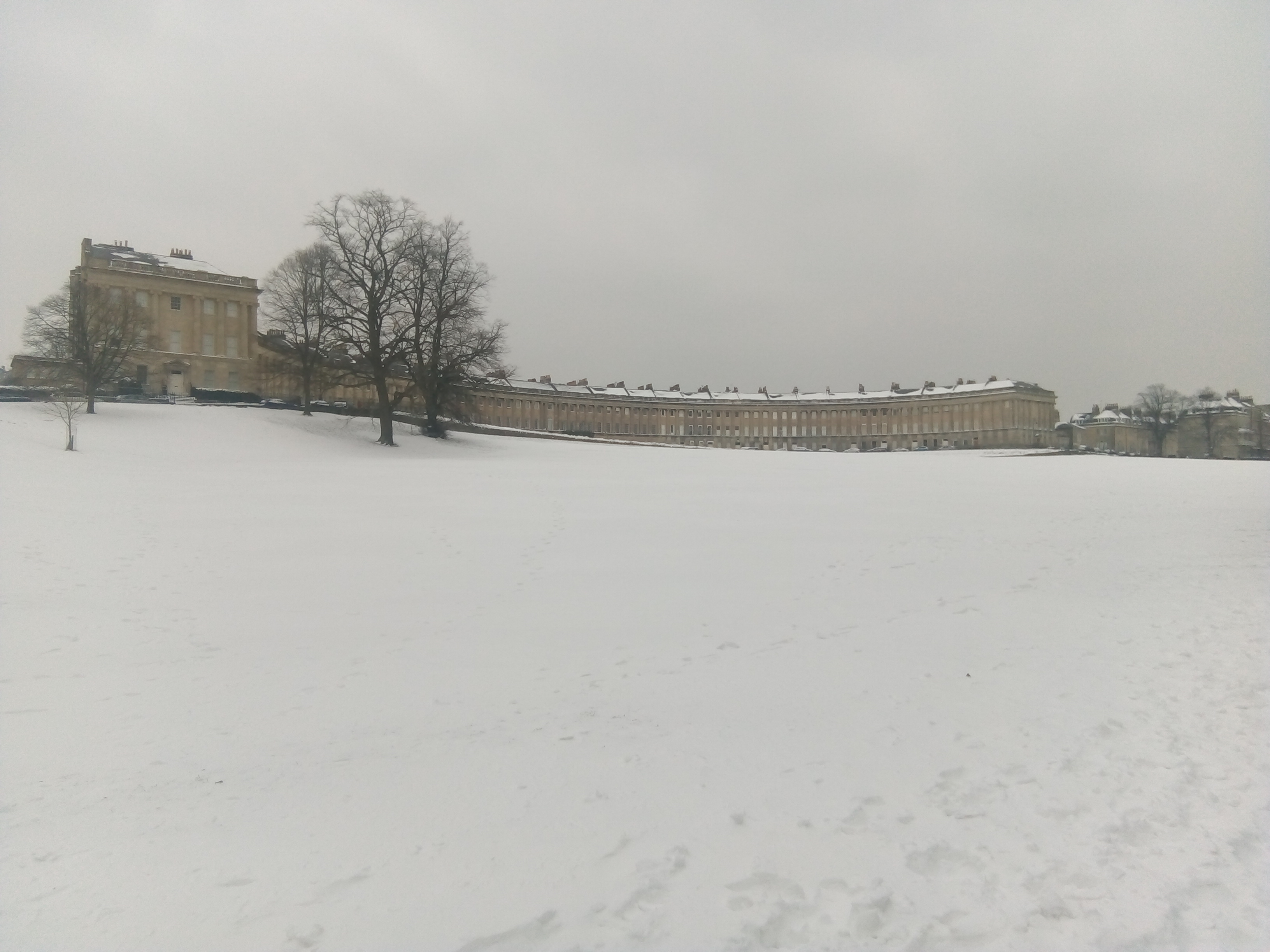 "The ""Beast from the East"" Hits Bath and North East."